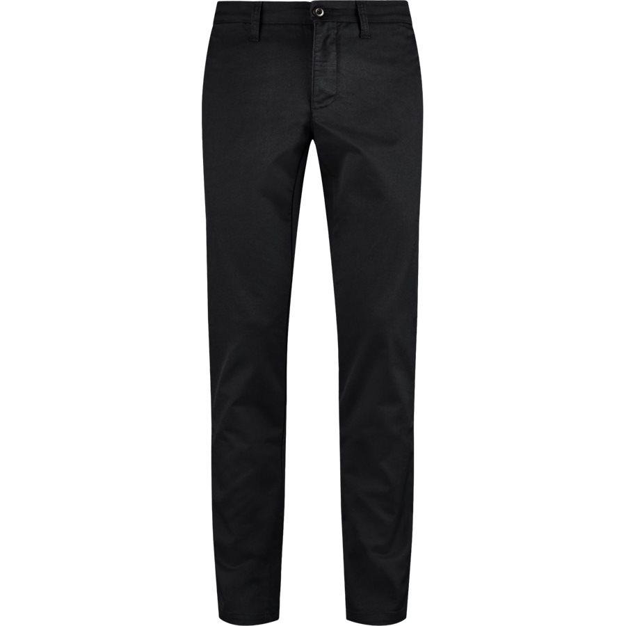 SID PANT I003367 - Sid Pant - Bukser - Slim - BLACK RINSED - 1